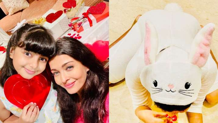 On Easter 2021, Aishwarya Rai Bachchan treated fans with an adorable picture of her daughter Aaradhy