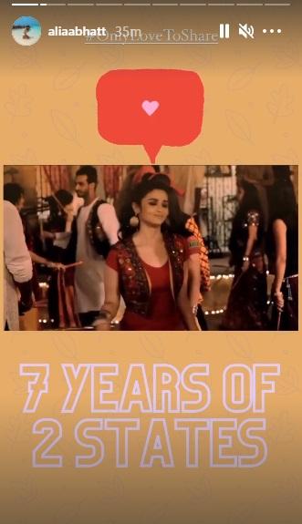 India Tv - 2 states clocks 7 years: Arjun Kapoor, Alia Bhatt reminisce special moments | WATCH