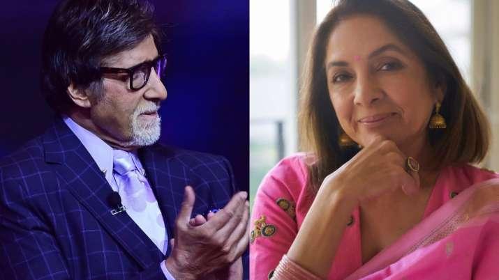 Neena Gupta joins Amitabh Bachchan, Rashmika Mandanna in 'Goodbye', to play Big B's wife, On joining