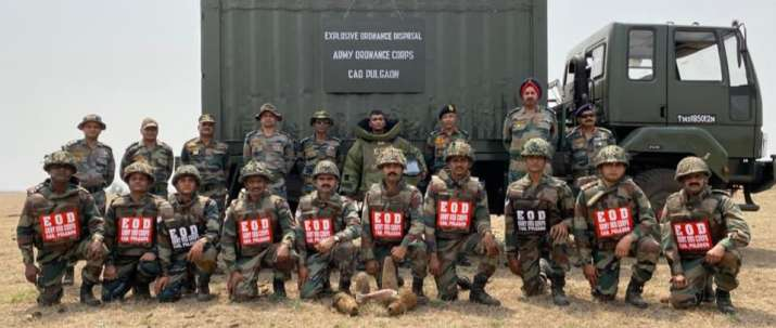 India Tv - Mumbai, Indian Army, disposed, unexploded ordnance, Southern Command of Indian Army, civilian author