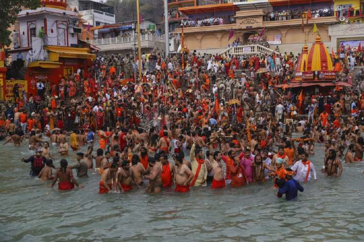 6 lakh people arrived in Haridwar for Baisakhi Snan, says