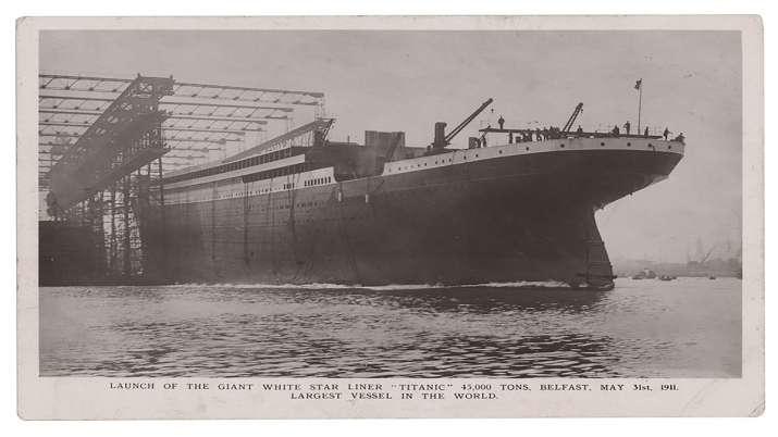 India Tv - titanic, postcard, postcard from titanic, titanic postcard auction, Titanic radio operator, Titanic
