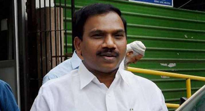A Raja, A Raja barred from campaigning,tamil nadu election latest news,Raja comment on Palaniswami,