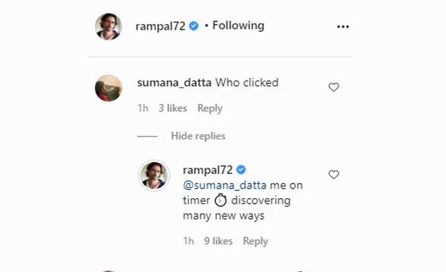 India Tv - Arjun Rampal reply to a fan
