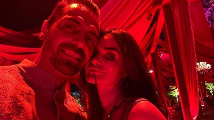 Arjun Rampal with girlfriend Gabriella Demetriades