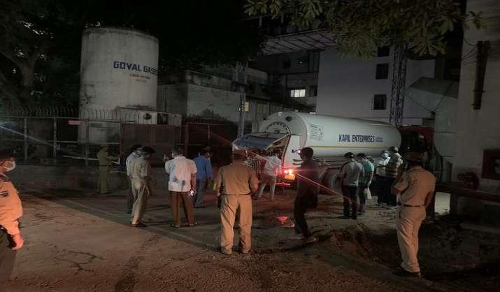 Police arrange oxygen at Delhi's Batra Hospital in just