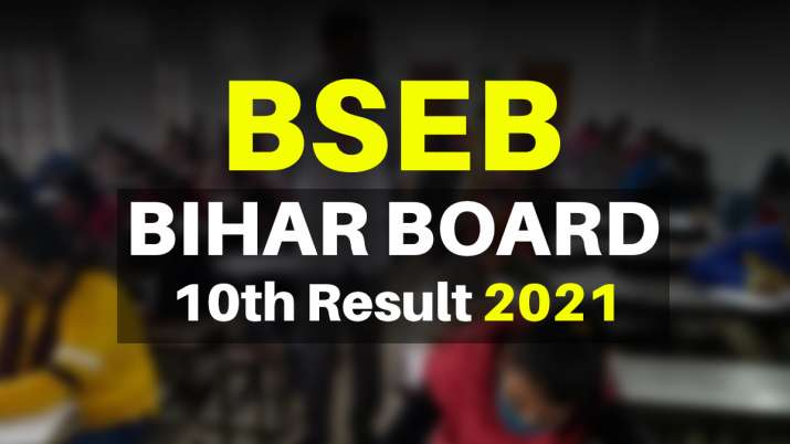 BSEB Results 2021: Bihar Board 10th Result declared. Direct