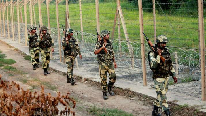 Border Security Force personnel opened fire when they