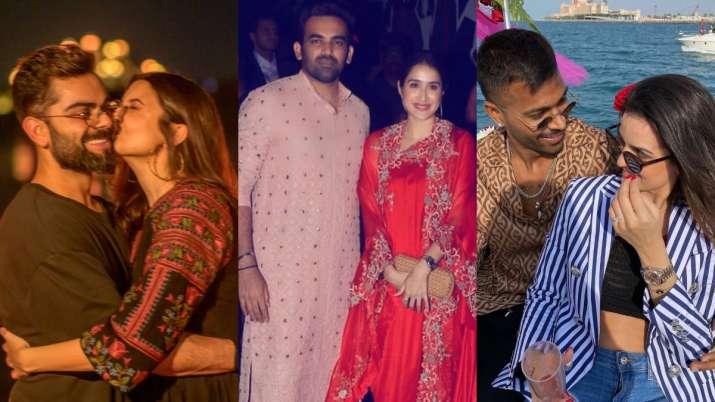 Anushka Sharma-Virat Kohli, Zaheer Khan-Sagarika Ghatge, Hardik Pandya-Natsa Stankovic