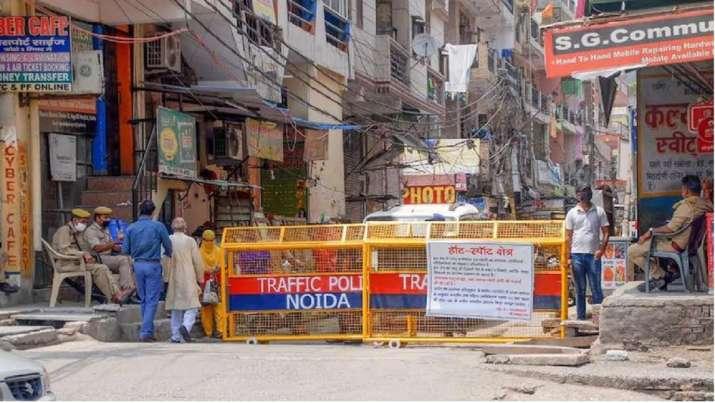 Noida containment zone