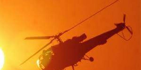 Chopper crash lands in Kerala