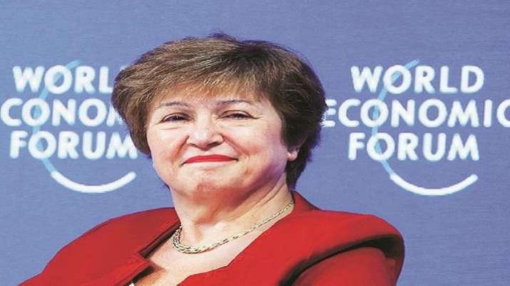 Christine Georgieva, Recovery, worst global recession, World War II, IMF MD Christine Georgieva, bus