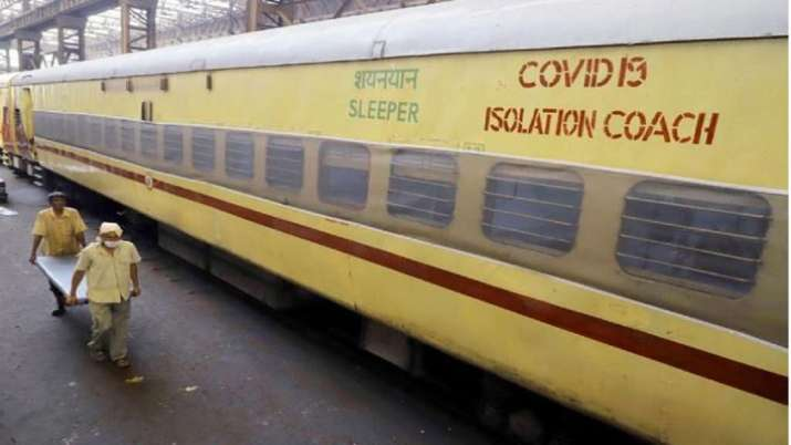 indian railways, isolation coach, railways isolation coach, isolation coach, railways covid beds