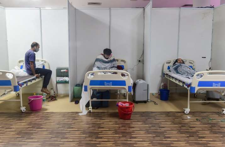 Noida: Many patients found occupying hospital beds without