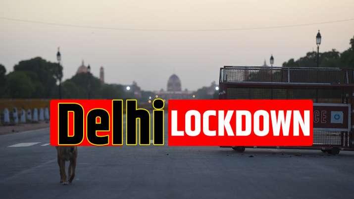 delhi lockdown news, lockdown in delhi
