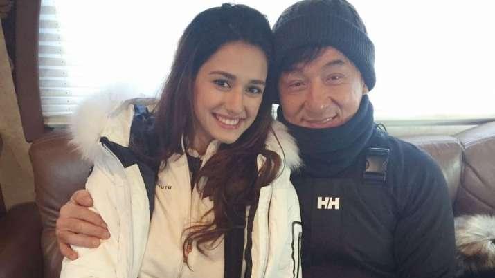 Disha Patani, Jackie Chan