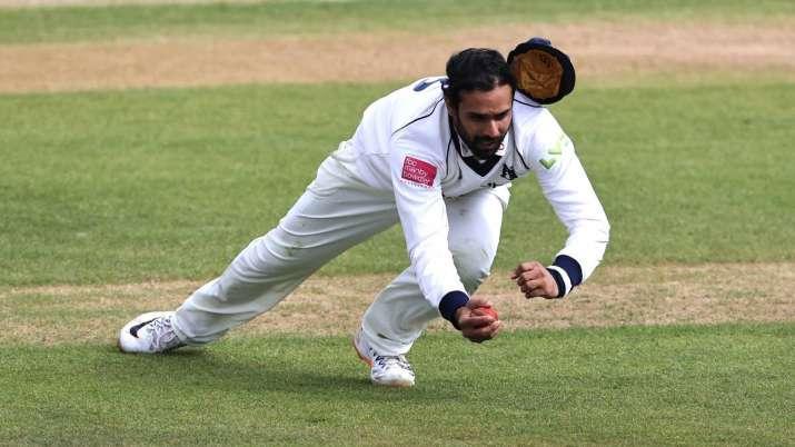 Hanuma Vihari grabs stunner to mark County debut: Watch   Cricket News –  India TV
