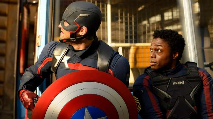 The Falcon and The Winter Soldier's mid-season sneak peek show Bucky Barnes, Sam Wilson, John Walker