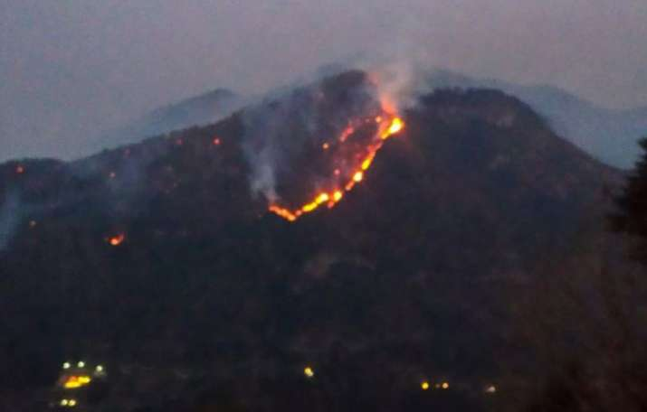 Uttarakhand forest fire, Uttarakhand forest fire incidents, Uttarakhand fire, NDRF helicopters relie