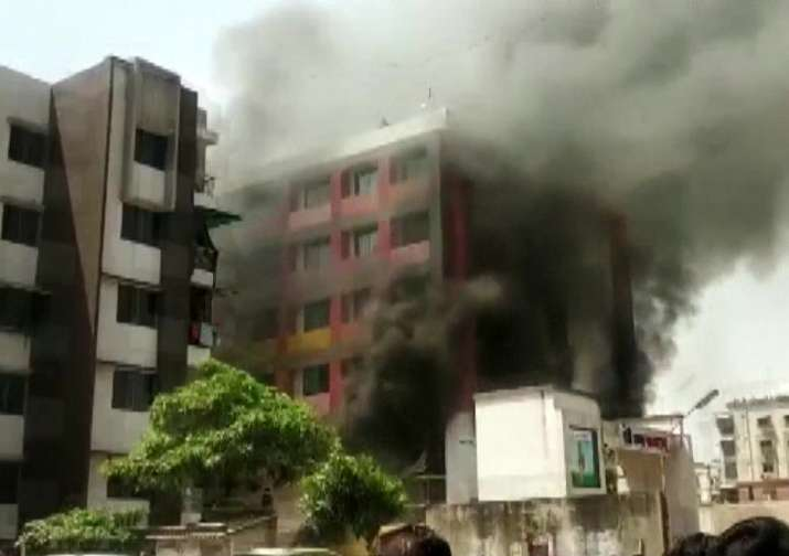Ahmedabad: Fire breaks out at Ankur International School