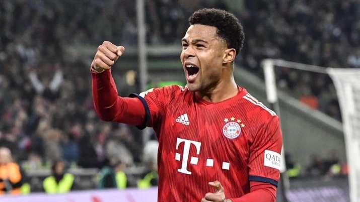 Bayern Munich forward Serge Gnabry