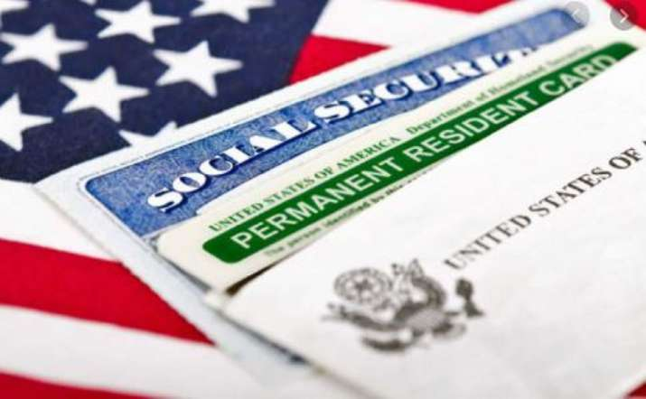 A Green Card, known officially as a Permanent Resident