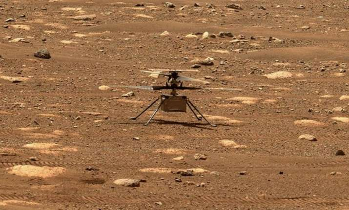 NASA's Mars Helicopter to make first flight attempt tomorrow
