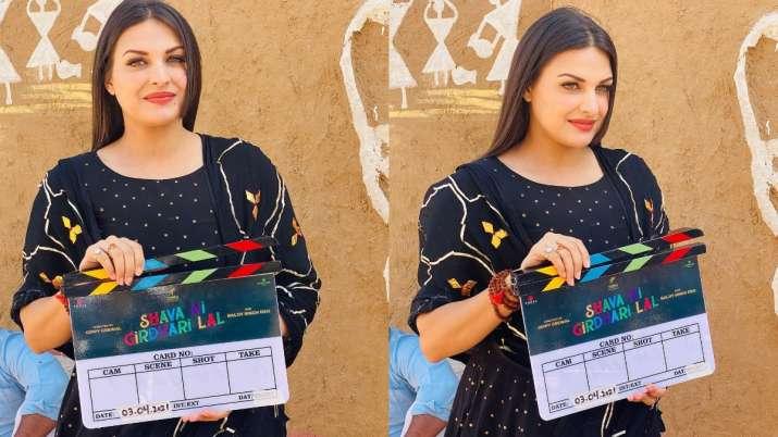 Himanshi Khurana starts shooting for her Punjabi film Shava Ni Girdhari Lal