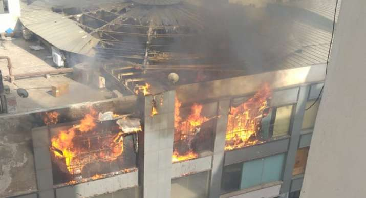 India Tv - indirapuram mall fire, jaipuria mall fire,mall fire today,jaipuria mall fire,