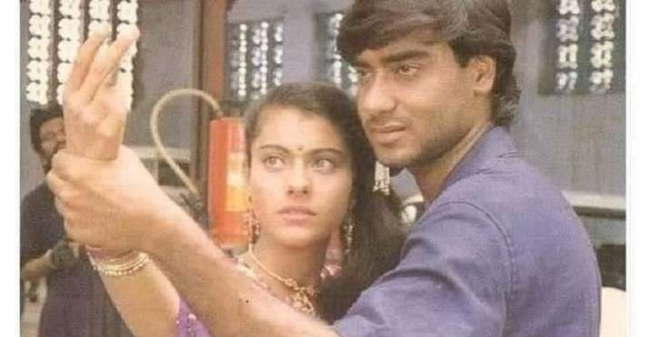 India Tv - Ajay Devgn and Kajol