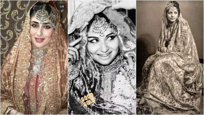 Kareena Kapoor, Sharmila Tagore, Begum Sajida Sultan