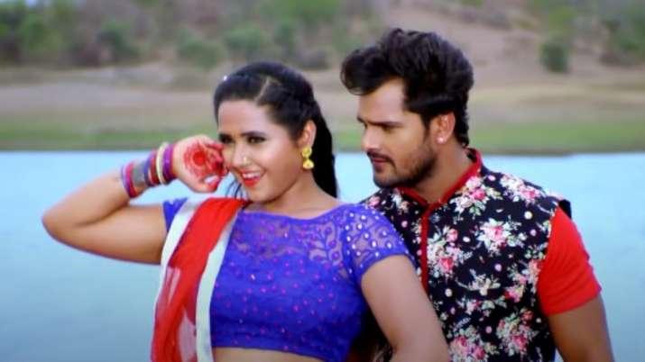 Khesari Lal Yadav and Kajal Raghavani's romantic song goes viral