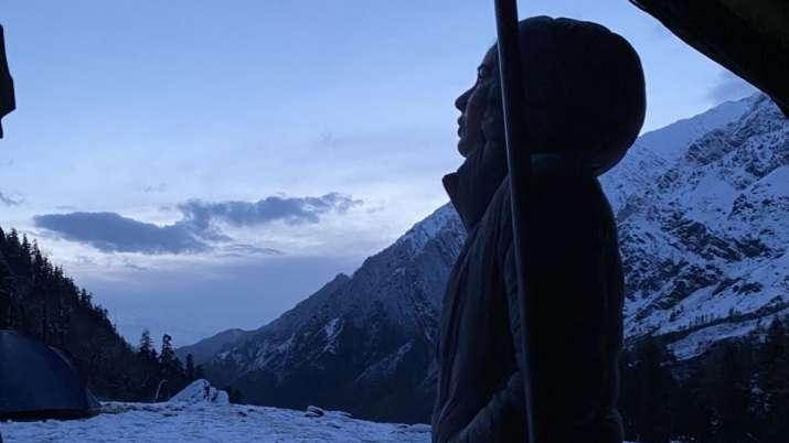 Kirti Kulhari shares photo from her trip to the mountains