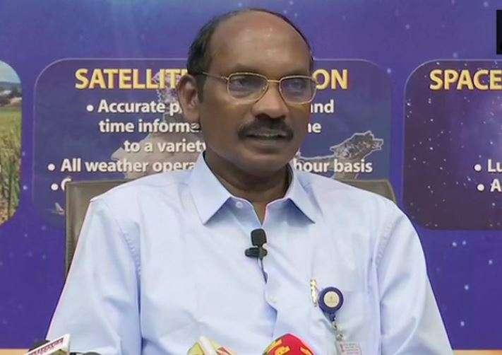 Indian Space Research Organisation (ISRO) chief K. Sivan
