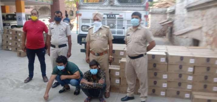 India Tv - Liquor smuggling, haryana, nuh, sonipat, haryana police, bihar, uttar pradesh, liquor, iilegal