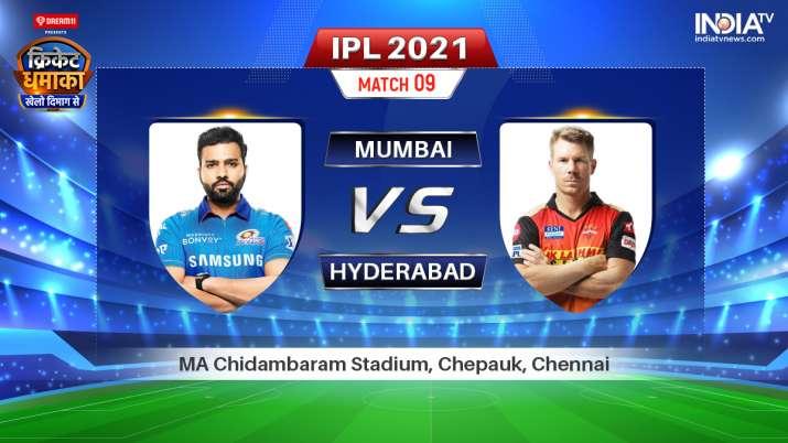 Live IPL 2021 Match MI vs SRH: Watch Mumbai Indians vs Sunrisers Hyderabad Live Online on Hotstar