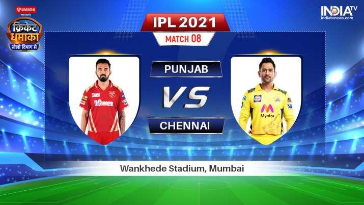 Live IPL 2021 Match PBKS vs CSK: Watch Punjab Kings vs