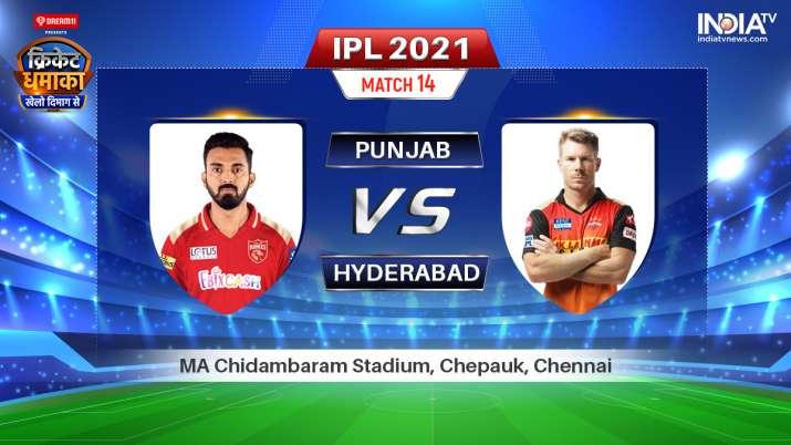 Live IPL 2021 Match PBKS vs SRH: Watch Punjab Kings vs Sunrisers Hyderabad Live Online on Hotstar St