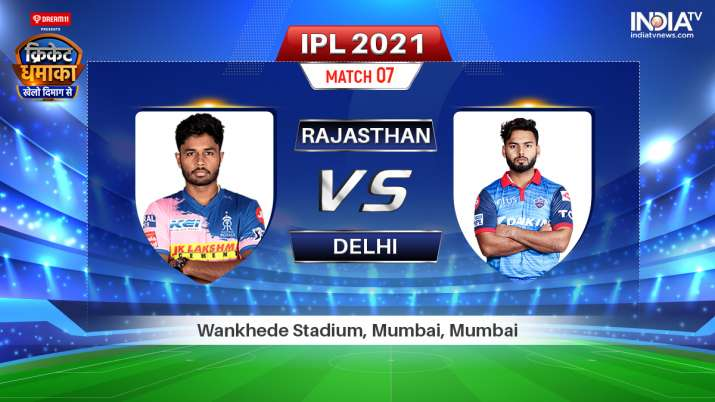 Live IPL 2021 Match RR vs DC: Watch Rajasthan Royals vs Delhi Capitals Live Online on Hotstar