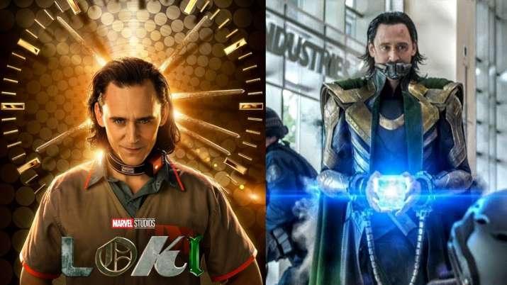 Poster of Loki featuring Tom Hiddleston, snapshot from trailer