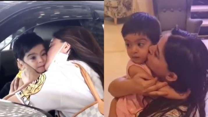 Mahhi Vij with daughter Tara