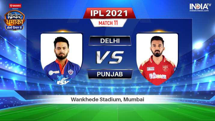 Live IPL 2021 Match DC vs PBKS: Watch Delhi Capitals vs Punjab Kings Live Online