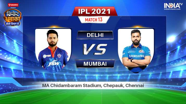Live IPL 2021 Match DC vs MI: Watch Delhi Capitals vs Mumbai Indians Live Online
