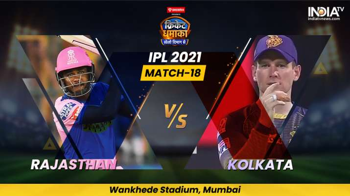 Match 18, Rajasthan Royals vs Kolkata Knight Riders: Follow Live score and updates from Mumbai