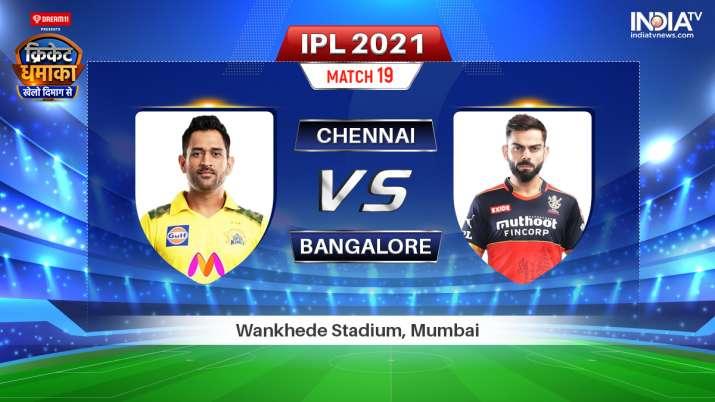 Live IPL 2021 Match CSK vs RCB: Where to Watch Chennai Super Kings vs Royal Challengers Bangalore Li