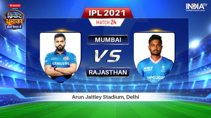 Live IPL 2021 Match MI vs RR: Where to Watch Mumbai Indians vs Rajasthan Royals Live Online