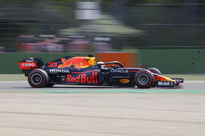 F1: Max Verstappen leads practice at Imola ahead of ...