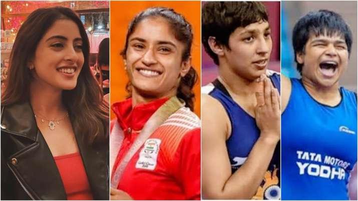 Navya Nanda shares pics of athletes