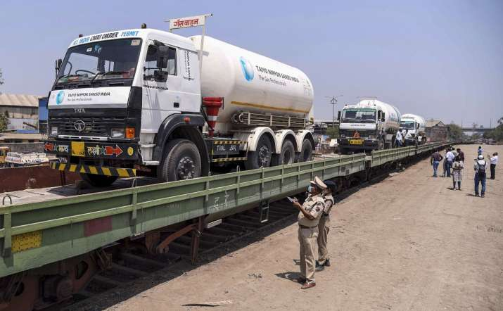 Haryana: Oxygen tanker headed from Panipat to Sirsa goes
