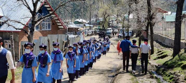 India Tv - 28 RR raises Scouts and Guides Coy at Army Goodwill School, Chandigam